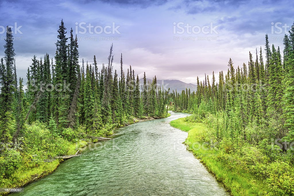 Watin River stock photo