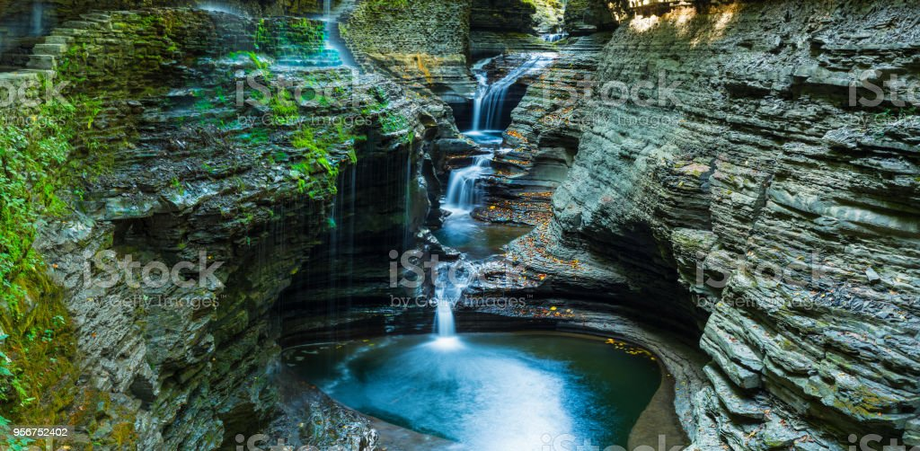 Watkins Glen State Park stock photo