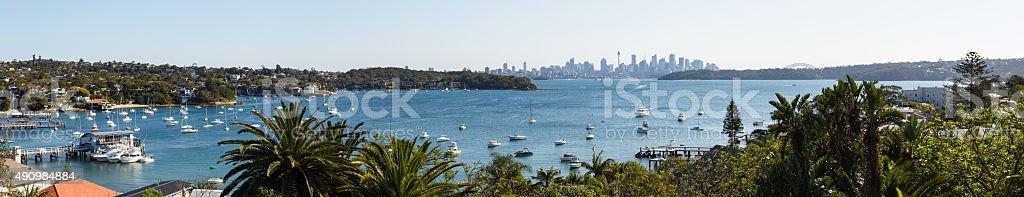 Watson Bay, Panorama, Sydney stock photo