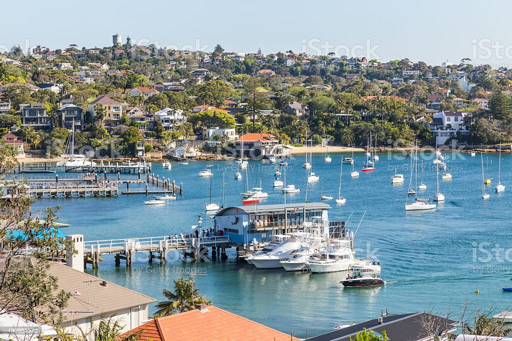 Watson Bay, Sydney stock photo