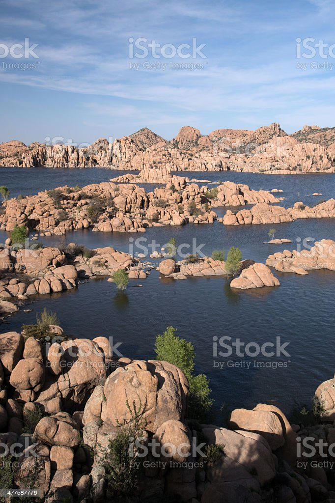 Watson Lake Pak, Arizona, USA stock photo