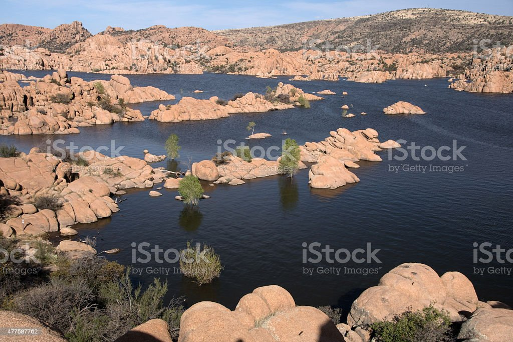 Watson Lake Park, Arizona, USA stock photo