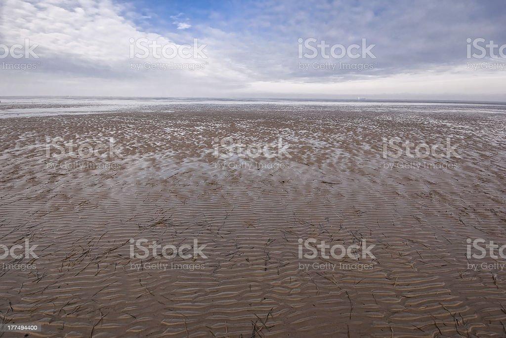 Wade davis, Himmel und Wolken/Wattenmeer, Himmel und Wolken – Foto
