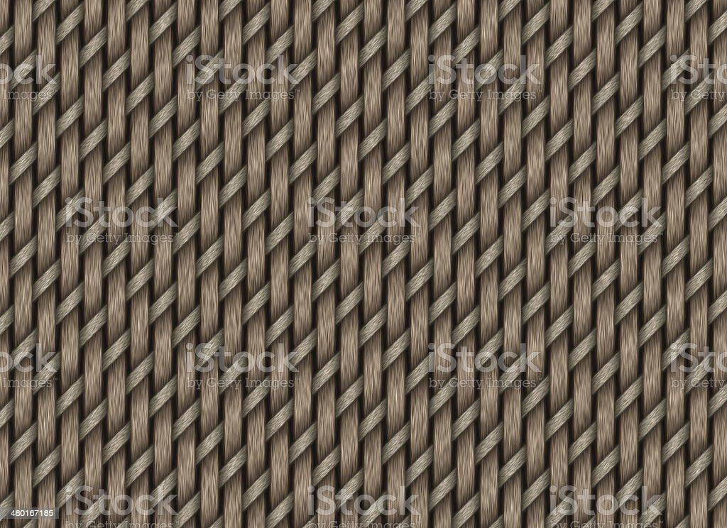 wattled fence backgrounds. handmade wicker pattern royalty-free stock photo
