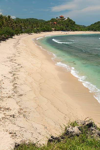 watu karung beach, pacitan, java, indonesia - mahroch stock pictures, royalty-free photos & images