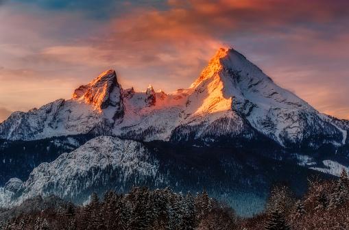 Watzmann at Sunrise