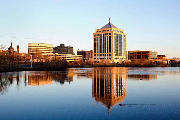 Wausau, Wisconsin stock photo