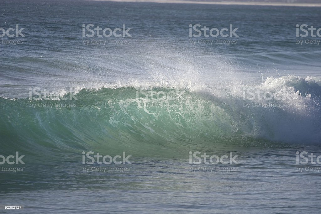 Wave 1 royalty-free stock photo