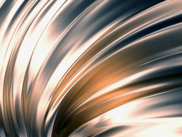 wave abstract background 3d rendering - kunst 1. klasse stock-fotos und bilder