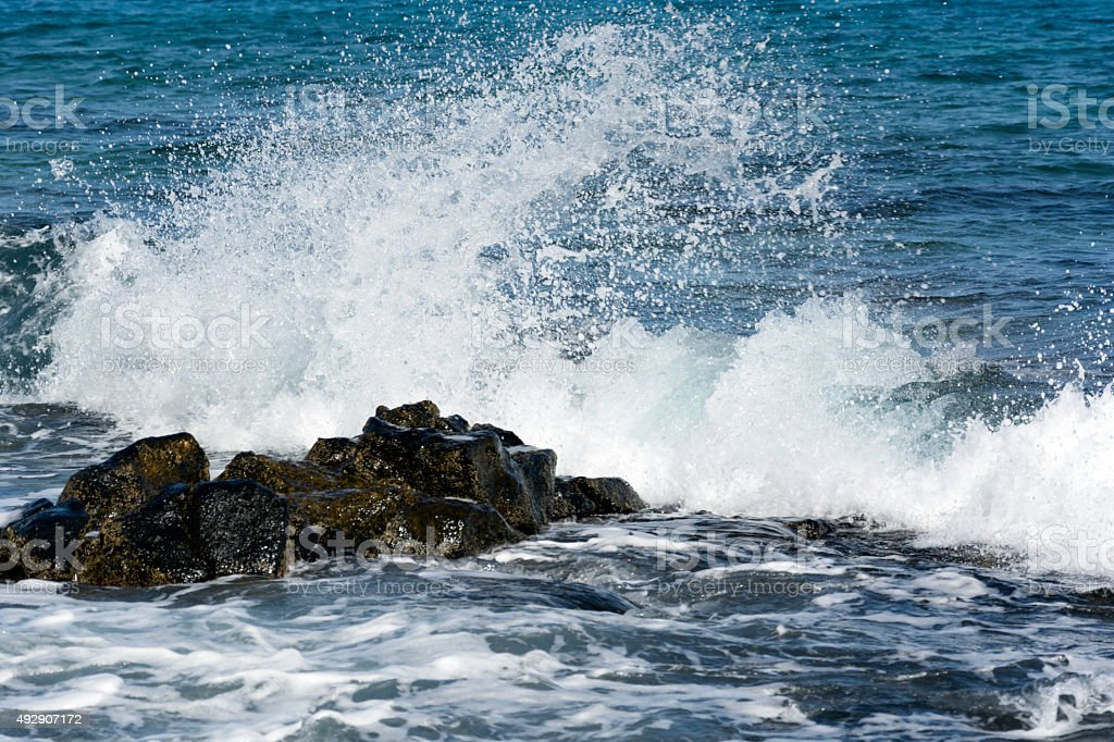 Wave after wave... stock photo
