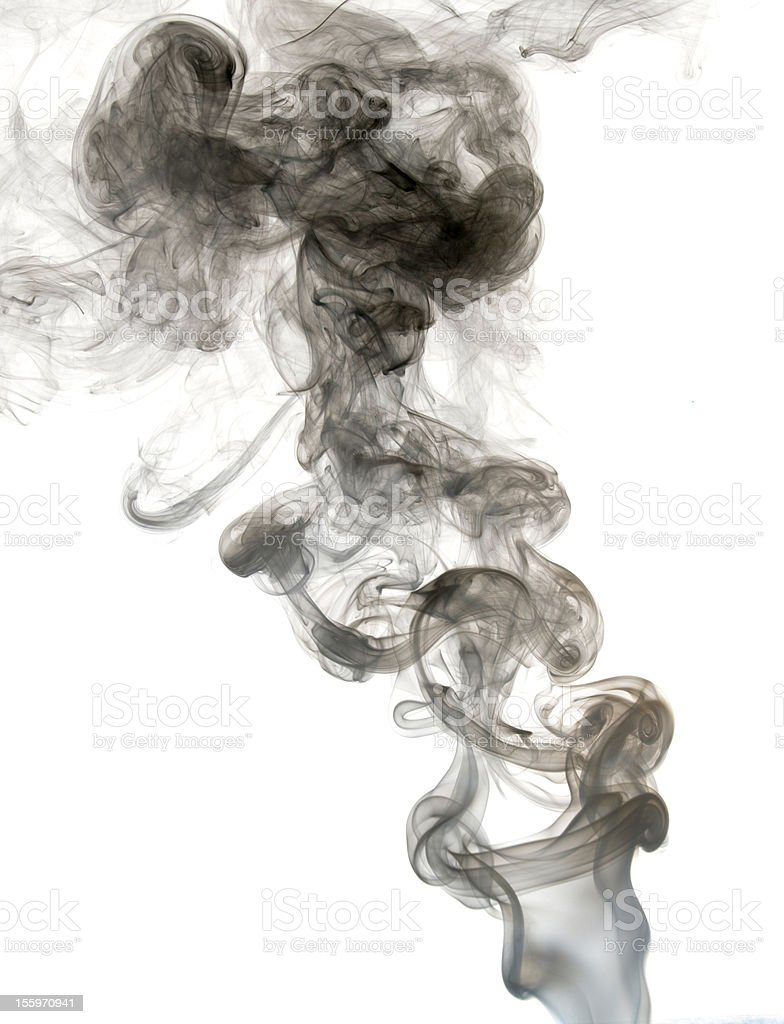 Wave and smoke background royalty-free stock photo