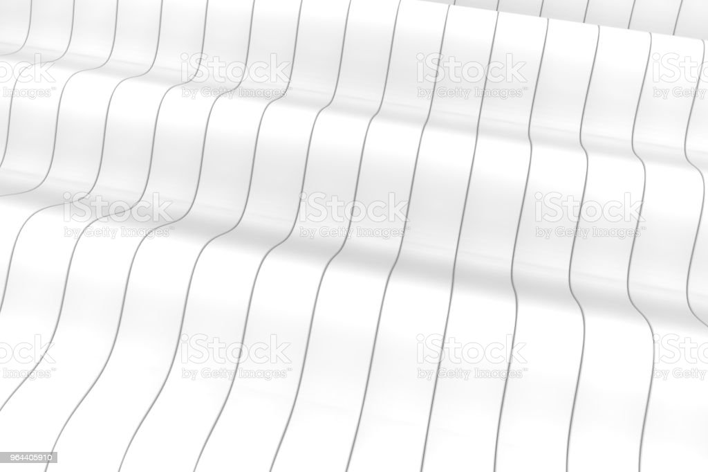 Wave band abstracte achtergrond - Royalty-free Abstract Stockfoto