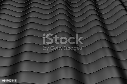 Wave Band Abstract Background Stock Photo & More Pictures of Abstract