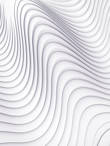 921696186 istock photo Wave band abstract background surface 3d rendering 903068840