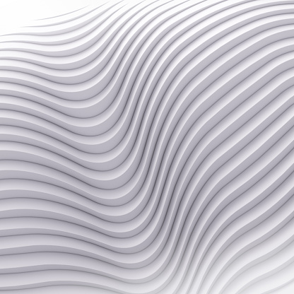 921696186 istock photo Wave band abstract background surface 3d rendering 906924186