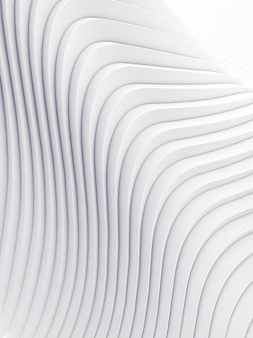 921696186 istock photo Wave band abstract background surface 3d rendering 909084362