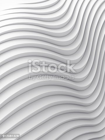 921696186 istock photo Wave band abstract background surface 3d rendering 912081328
