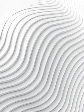 921696186 istock photo Wave band abstract background surface 3d rendering 917684696