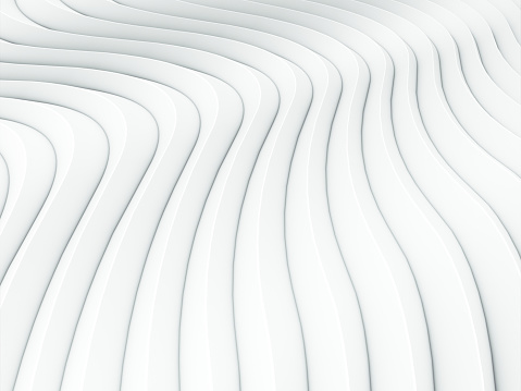 921696186 istock photo Wave band white abstract background surface. 3d rendering 1157147148