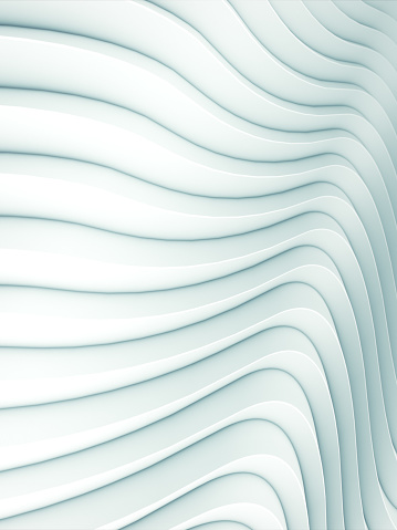 921696186 istock photo Wave band white abstract background surface. 3d rendering 1158200584
