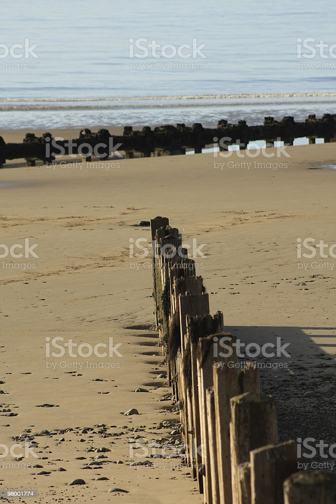 Wave Breakers royalty-free stock photo