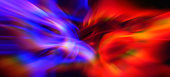 Wave Colorful Prism Pattern Abstract Exploding Flame and Ice, Water Morphing Smoke Fire Rainbow Background Vitality Vibrant Blurred Red Blue Yellow Purple Texture Digitally Generated Image