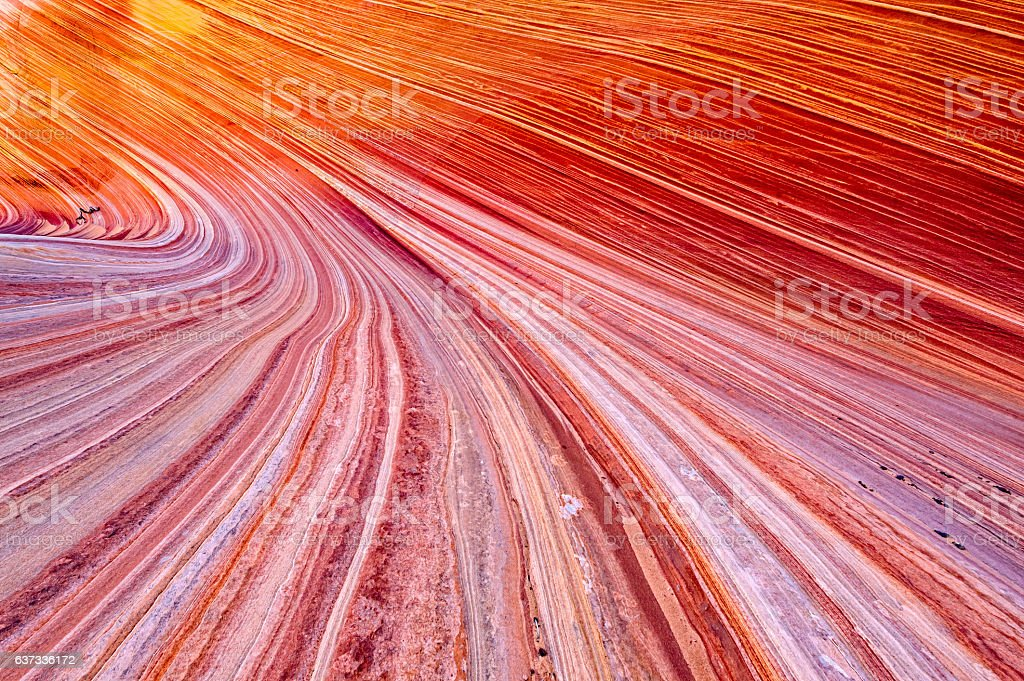 Wave Coyote Buttes stock photo