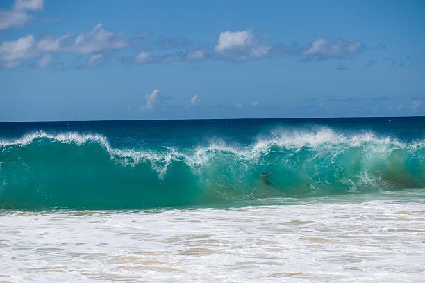wave brechenden down – Foto