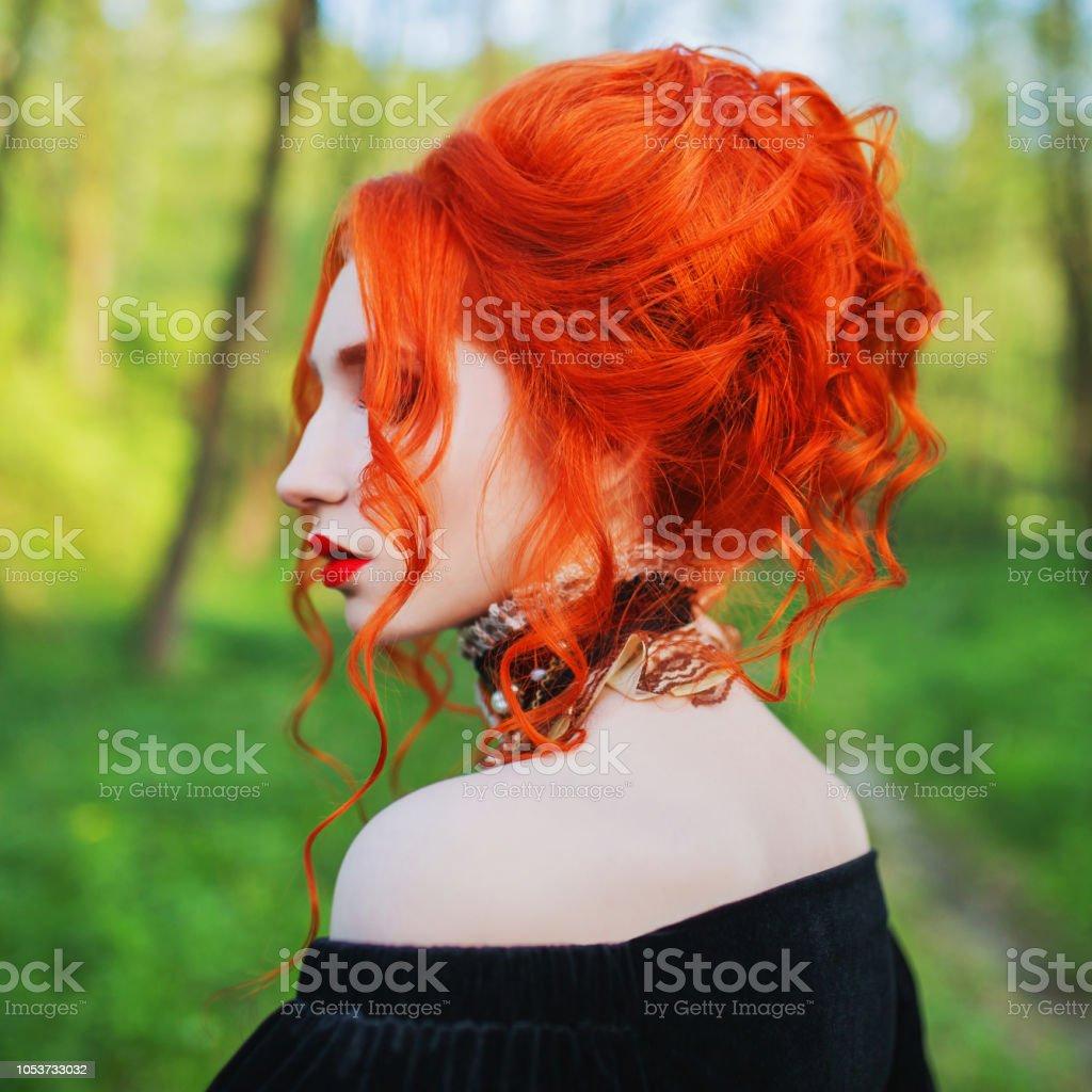Rote frauen frisuren haare Rote haare