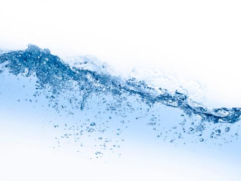 Wave in blue XXXL