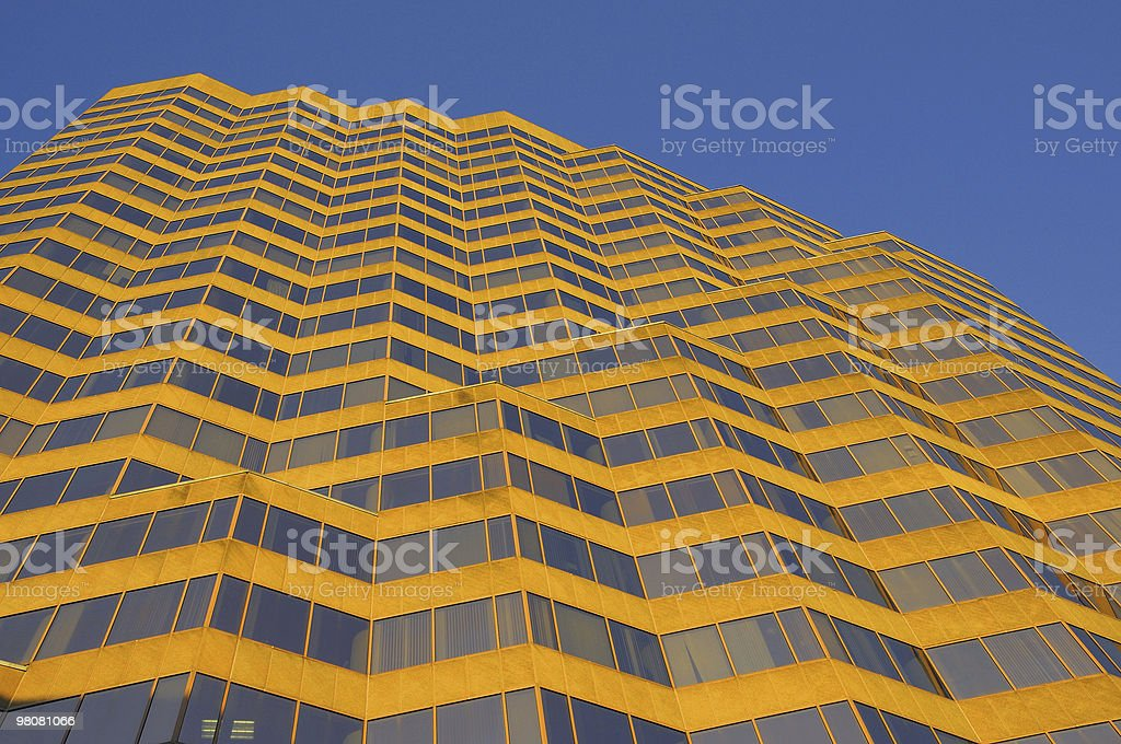 Wave Modern Building royalty-free stock photo