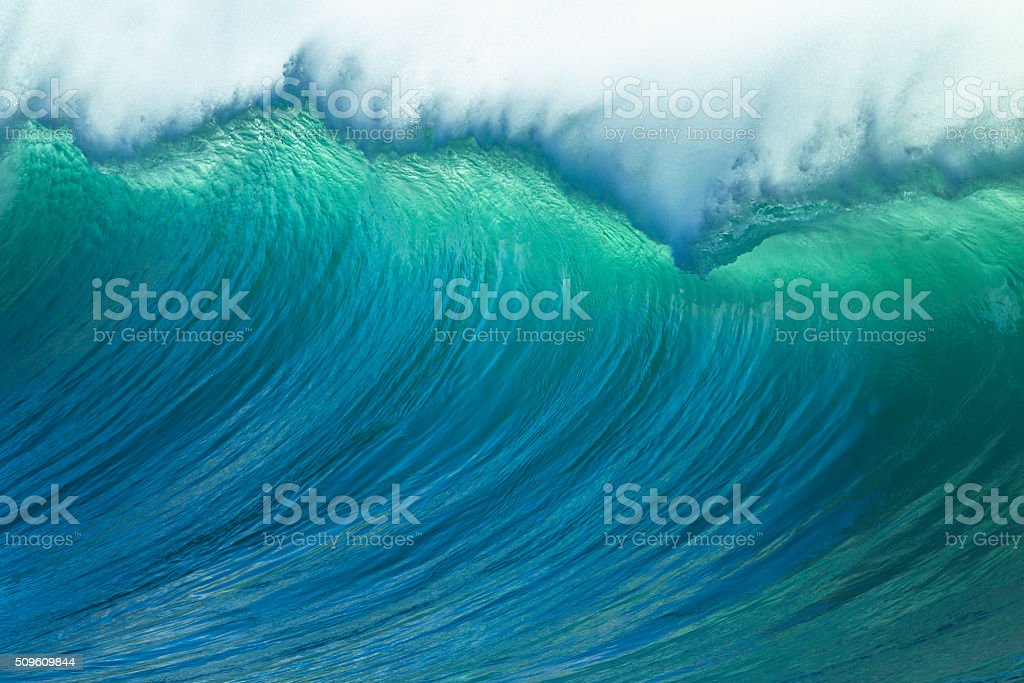 Wave Ocean Power stock photo