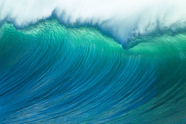 wave ocean power - wave stock photos and pictures