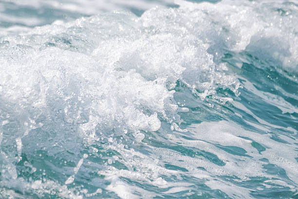 wave ocean water background, blue sea texture with waves. - competition group stock photos and pictures