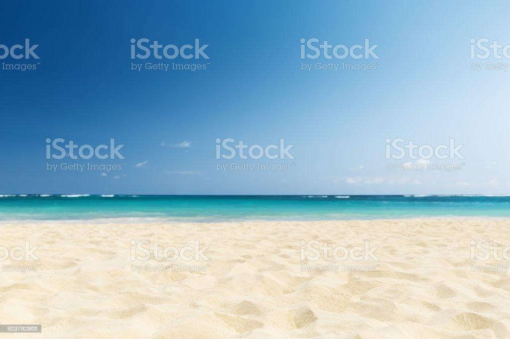 Welle des Meeres im sand beach  – Foto