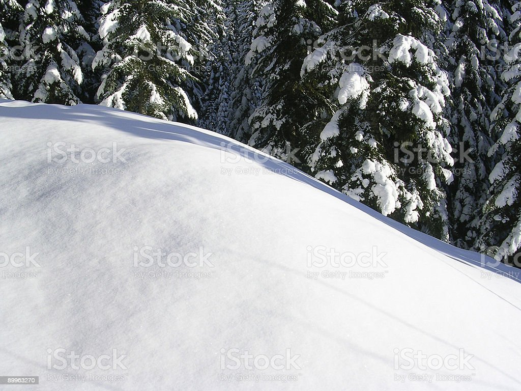 Wave of White stock photo
