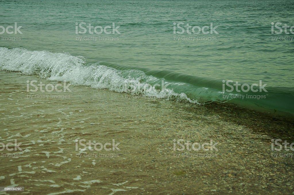 wave on the Black Sea photo libre de droits