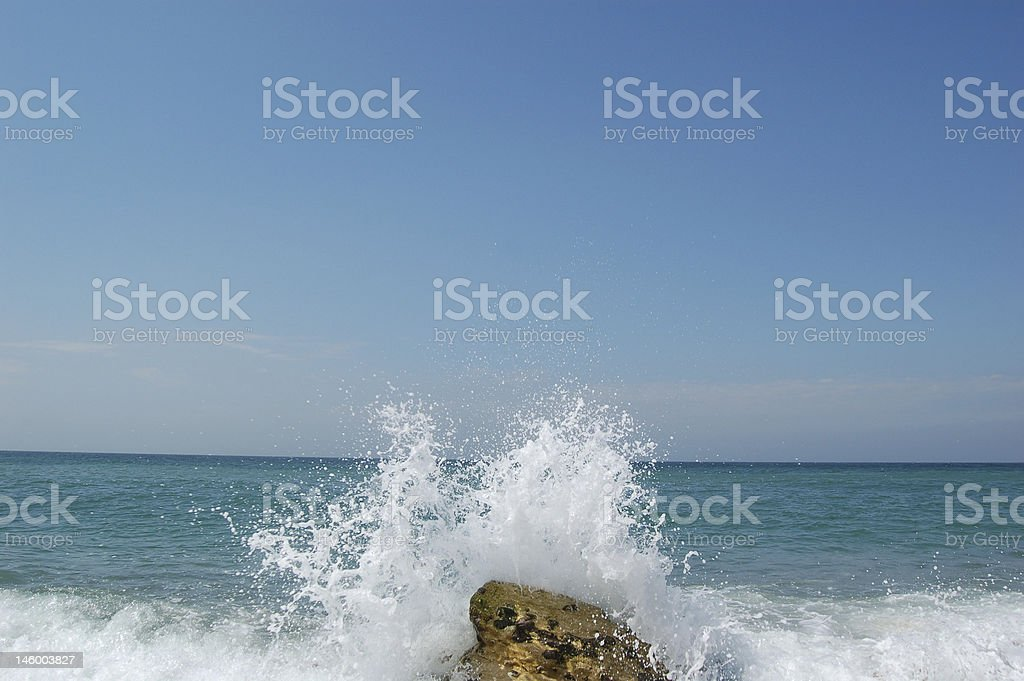 wave stock photo
