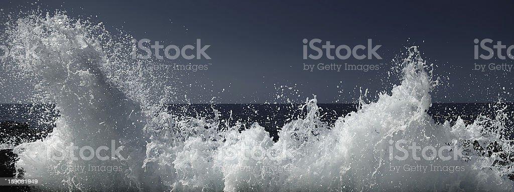 wave royalty-free stock photo