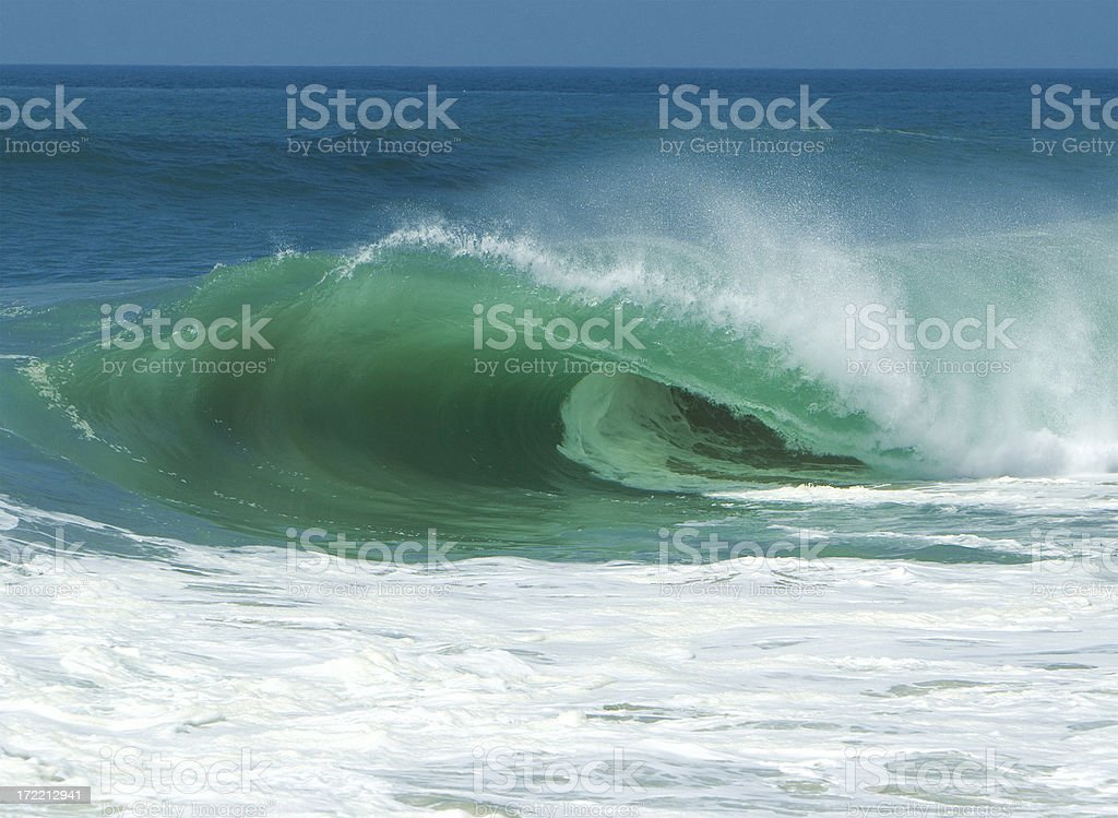 Wave Power royalty-free stock photo