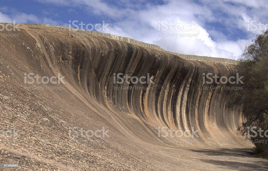 wave rock royalty-free stock photo