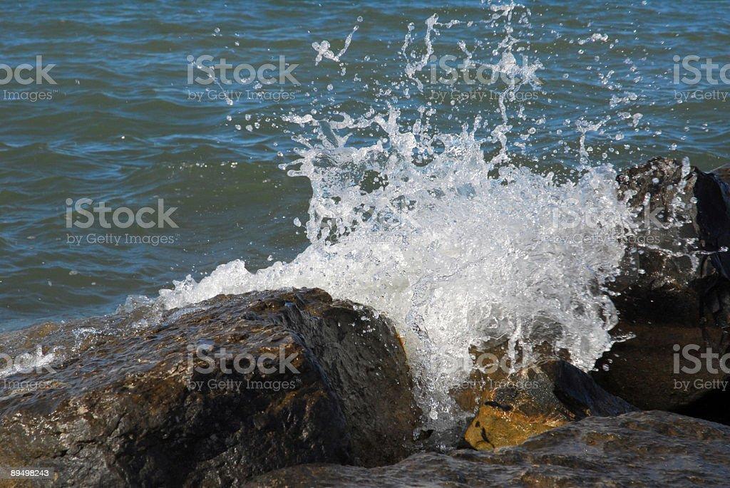 splash Wave foto stock royalty-free