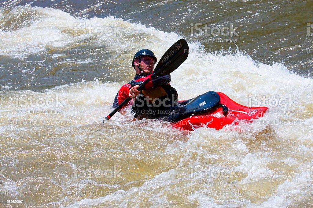 Wave Sport Kayak royalty-free stock photo