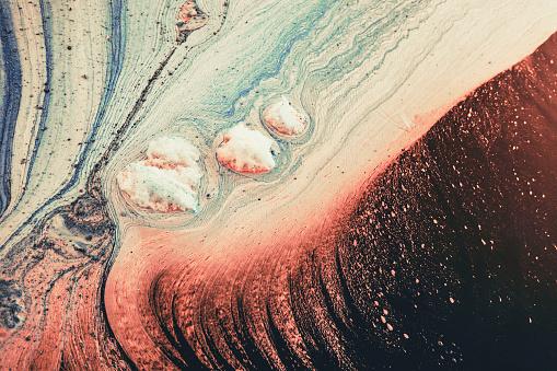 istock Wave texture water background foam color 898612472