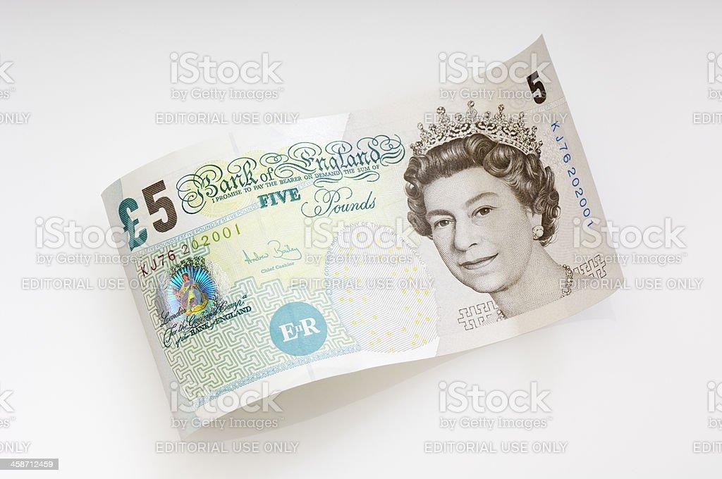 Galapagos Fünfpfundschein/Britische Währung – Foto