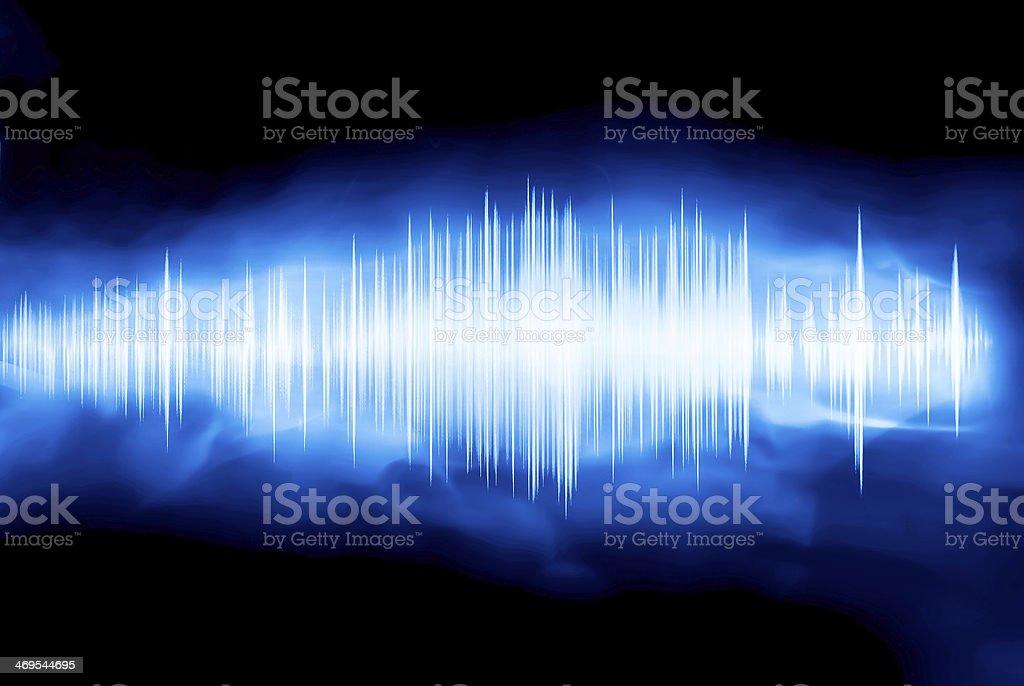 waveform stock photo