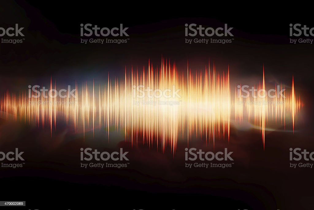 waveform stock photo