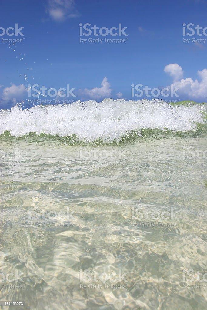 Waves 01 royalty-free stock photo