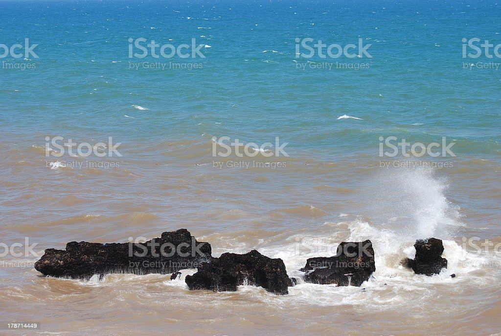 Waves at Essaouira royalty-free stock photo