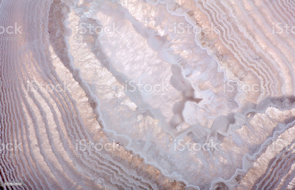 waves in agate structure closeup stock photo